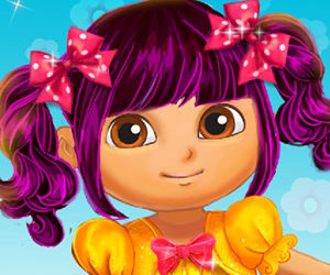 game Dora Real Makeover
