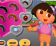 game Dora Valentine Shopping