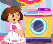 game Dora Washing Dresses