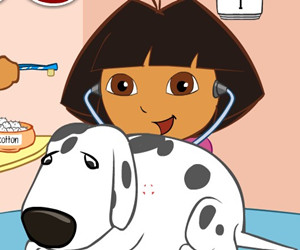 game Dr Dora Saves The Dogs