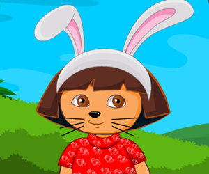 game Easter Dora Funny Bunny Makeover