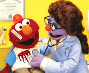 game Elmo Visiting The Doctor