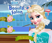 game Elsa Beauty Salon 2