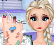 game Elsa Foot Doctor