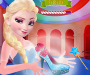 game Elsa Magic Shoes