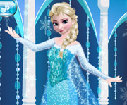 game Elsa Prom Dress Up