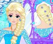 game Elsa Royal Hairstyles