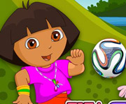 game FIFA Fan Dora Color Dressup