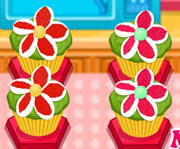 game Floral Cupcakes