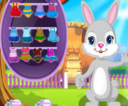 game Fluffy bunny dress up