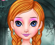 game Frozen Anna Elegant Princess
