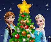 game Frozen Christmas Tree