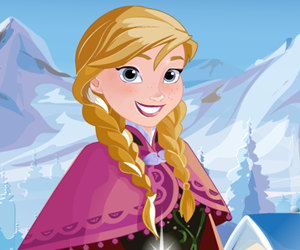 game Frozen Princess Anna Frosty Makeover
