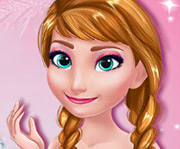 game Frozen Prom Make-up Design