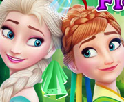 game Frozen Sisters Facial