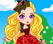 game Garden Tea Party Tylie as Ladybug Look