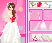game Glamour Bride Dress Up