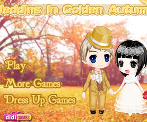 game Golden Autumn Wedding