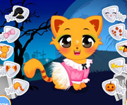 game Halloween Kitten Dressing Up