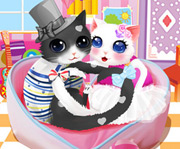 game Heart Cats Dress Up