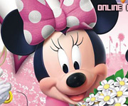 game I Love Minnie Online Coloring