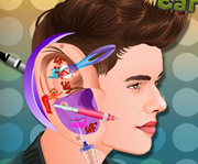 game Justin Bieber Ear Infection