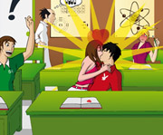 game Kissing in Class