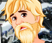 game Kristoff Icy Beard Makeover