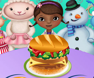 game McStuffins At Burger King