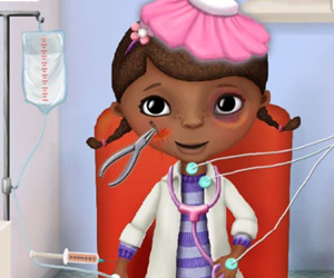 game McStuffins In The Ambulance