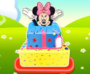 game Minnie Mouse Surprise Cake