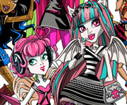 game Monster High Ghouls Coloring