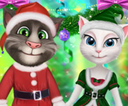 New Year Party Talking Tom And Angela
