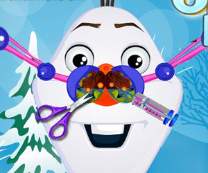 game Olaf Nose Doctor