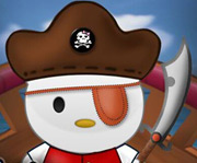 game Pirate Hello Kitty Fix and Dressup
