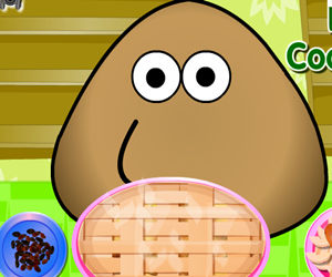 game Pou Cooking Pie