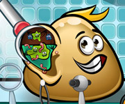 game Pou Ear Doctor Game