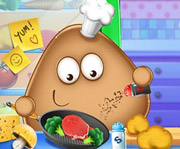 game Pou Real Cooking