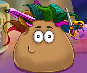 game Pou Real Haircuts