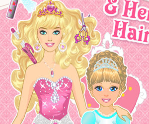 game Princess And Baby Hairstyle