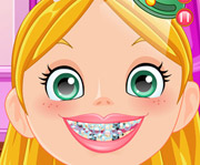game Princess at the Crazy Dentist
