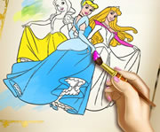 game Princess Coloring Book