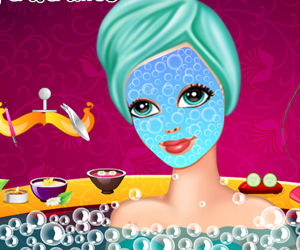 game Princess Day Spa Facial Makeover