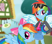 game Rainbow Dash Pony VS Human
