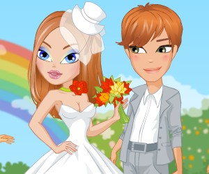 game Rainbow Wedding