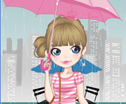 game Rainy Day Dress Up