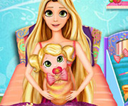 game Rapunzel Baby Birth