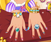 game Rapunzel Princess Hand Spa
