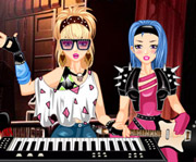 game Rockband Keyboard Girl