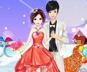 game Romantic Ice Snow Wedding